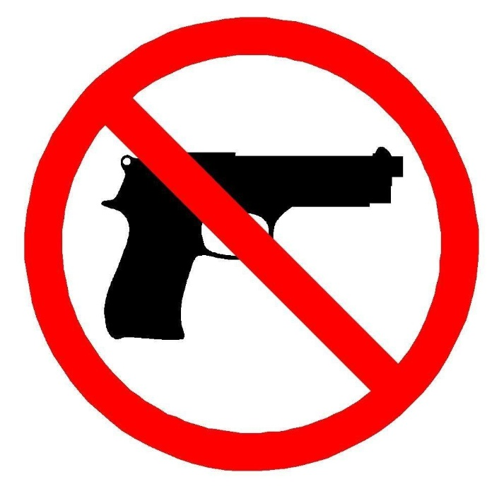 The authorized sign to restrict concealed carry from a property