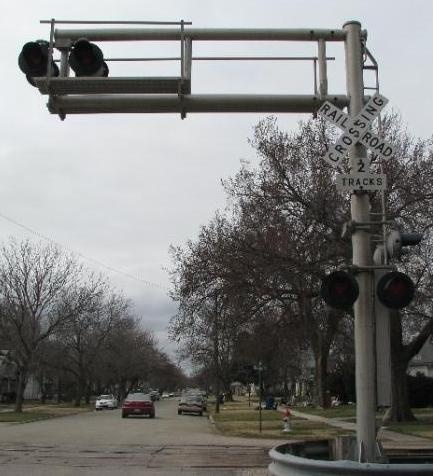 Railroad Flashing-Light Signal