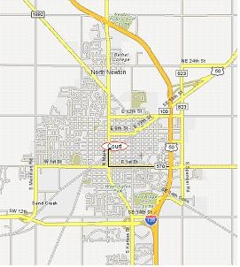 map of newton kansas Driving Directions City Of Newton Ks map of newton kansas
