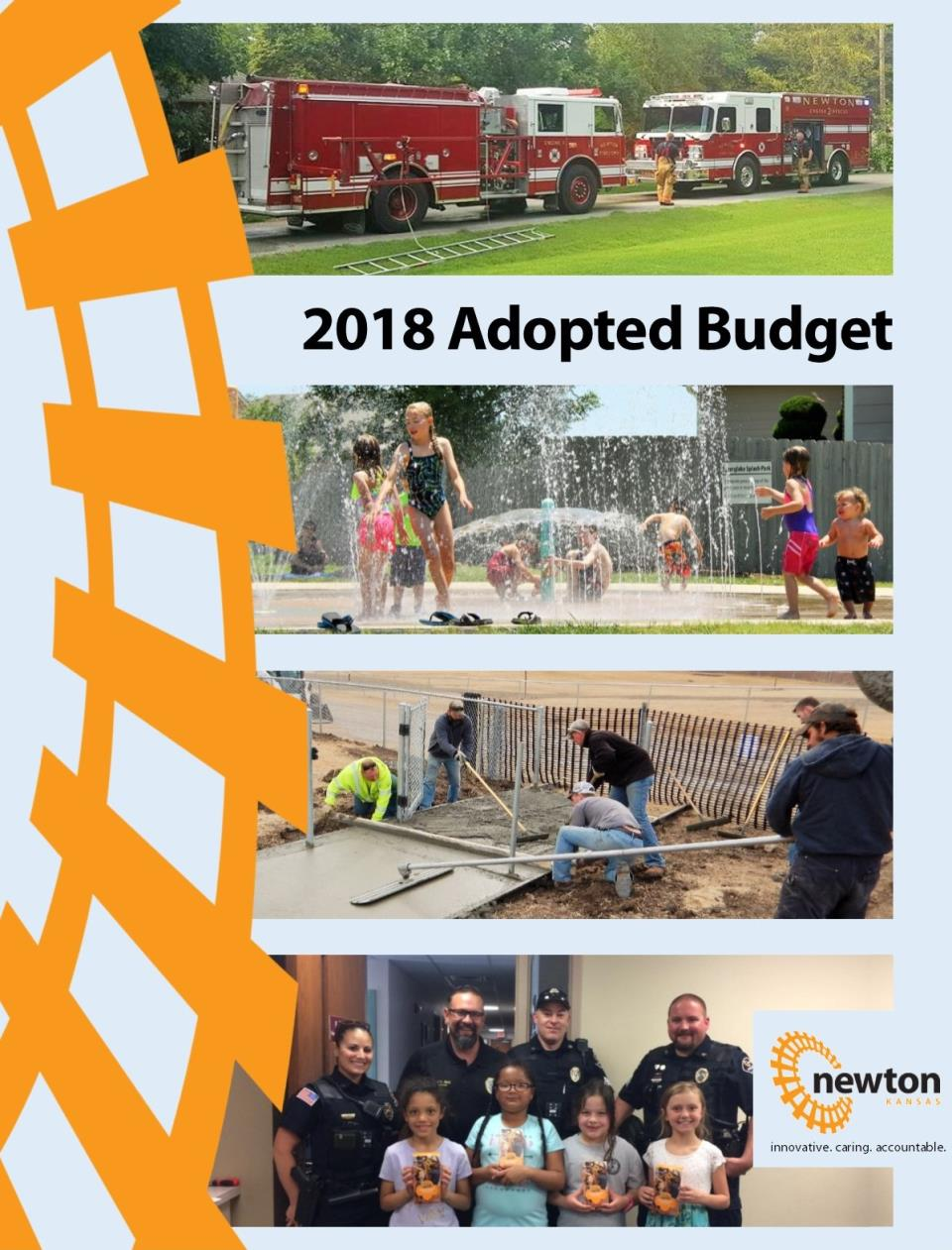 2018 Budget Book cover